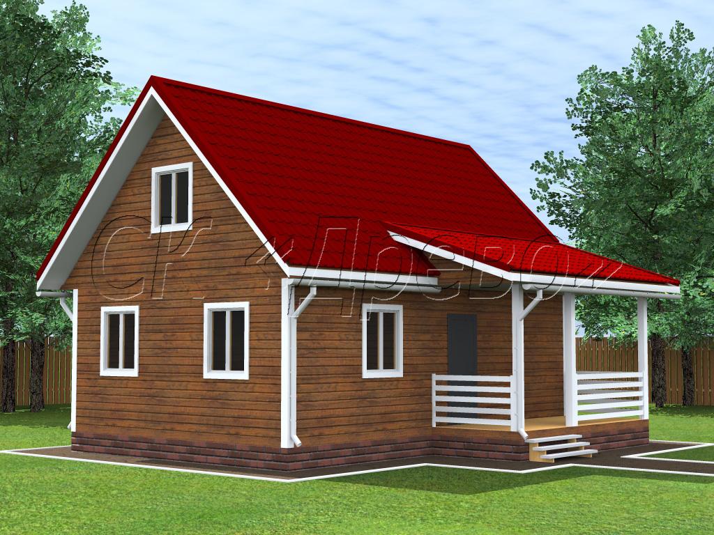 Фото проекты домов 6х9 каркасных домов